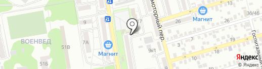 Хорошая пивная №1 на карте Ростова-на-Дону