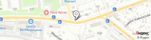 Доктор Глушак на карте Ростова-на-Дону