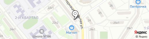 Магазин для парикмахеров на карте Рязани