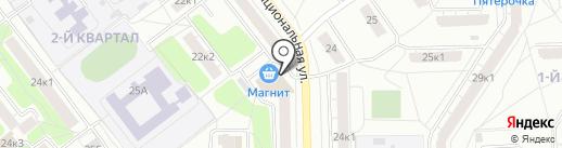 Магазин разливного пива на карте Рязани