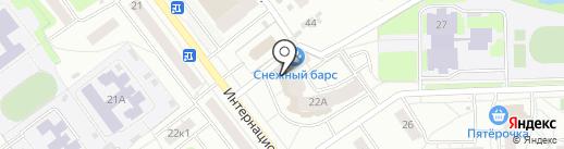Торгово-ремонтная компания на карте Рязани