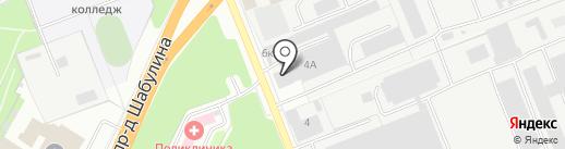 Мебельное решение на карте Рязани