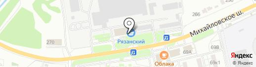 Банкомат, Банк ВТБ 24, ПАО на карте Рязани