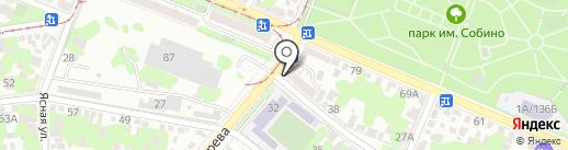 Минимаркет на карте Ростова-на-Дону