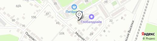 Платежный терминал, Московский кредитный банк на карте Рязани