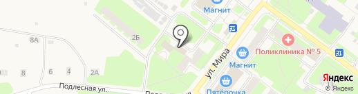 Почтовое отделение на карте Молочного