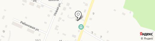 Ниагара на карте Костиного