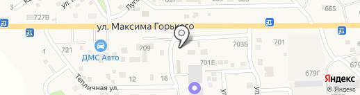 Ю.Тойс на карте Койсуга