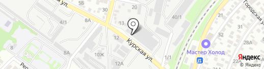 ЕФИМ на карте Ростова-на-Дону