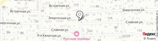 Русские хоромы на карте Ростова-на-Дону