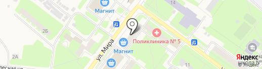 Банкомат, СГБ на карте Молочного