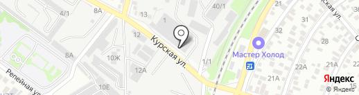 Магазин трикотажа на карте Ростова-на-Дону