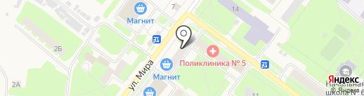 Торгово-сервисный центр на карте Молочного