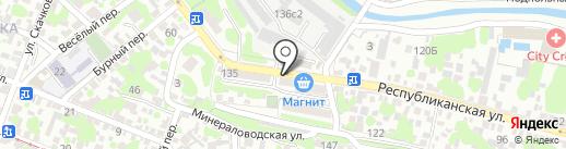 У Ильича на карте Ростова-на-Дону