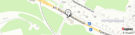 Центр Автозапчасть на карте Липецка