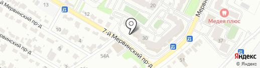 Компонент Авто на карте Рязани