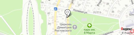 НЕЛЛИ на карте Ростова-на-Дону