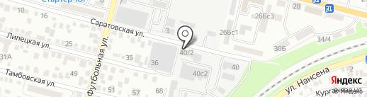 Абрикос на карте Ростова-на-Дону