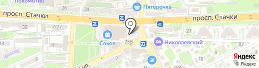 FastMoney на карте Ростова-на-Дону
