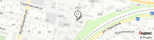 Премиум Класс на карте Ростова-на-Дону