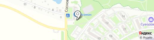 Мясная лавка на карте Ростова-на-Дону