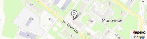 Швейная мастерская на карте Молочного