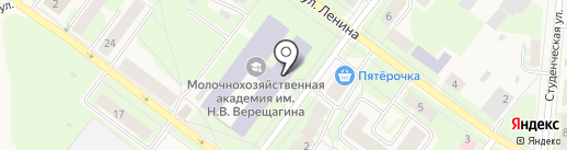 Банкомат, Сбербанк, ПАО на карте Молочного