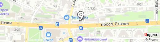 Лосось Хаус на карте Ростова-на-Дону
