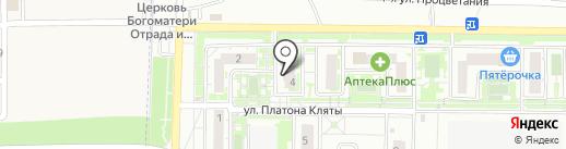 Парикмахерская № 1 на карте Ростова-на-Дону