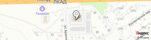 Оптовый магазин по продаже обоев на карте Липецка