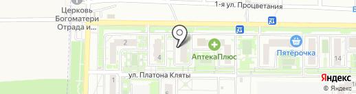 Клик на карте Ростова-на-Дону