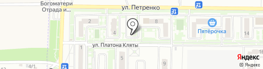 Фешен на карте Ростова-на-Дону