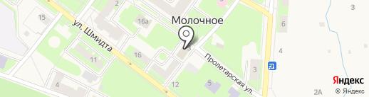 Администрация Молочного сельского поселения на карте Молочного