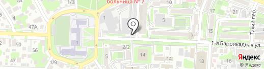 Мясная точка на карте Ростова-на-Дону