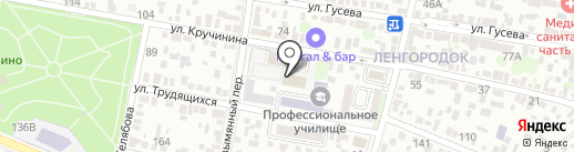 Магазин радиодеталей на карте Ростова-на-Дону