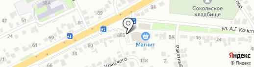 Мир Авто на карте Липецка