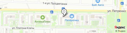 Пишичитай на карте Ростова-на-Дону