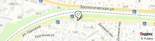 VIP Shine на карте Ростова-на-Дону