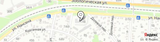 Торгово-производственная компания на карте Ростова-на-Дону