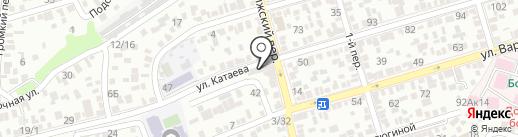 DM на карте Ростова-на-Дону