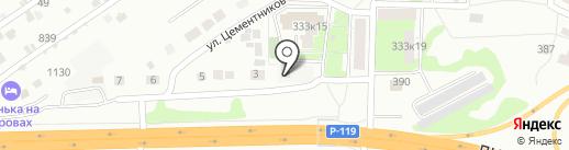 Агрокурс на карте Липецка