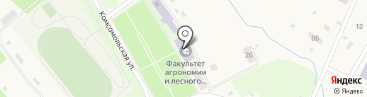 Технологический колледж на карте Молочного