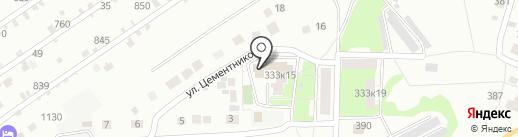 Контроль-Сервис на карте Липецка