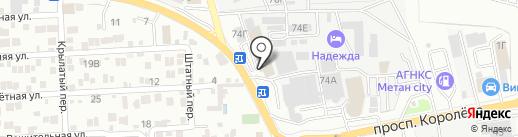 БестМаш на карте Ростова-на-Дону