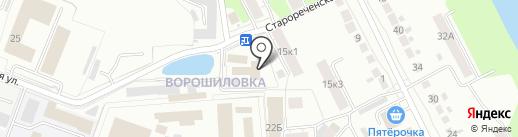 ИК-2 на карте Рязани