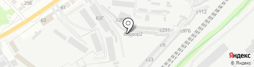 Рязань-3 на карте Рязани