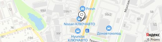 КлючАвто на карте Ростова-на-Дону
