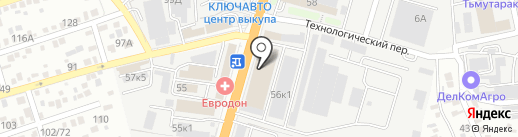 МТМ на карте Ростова-на-Дону