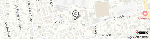 Детская станция на карте Ростова-на-Дону