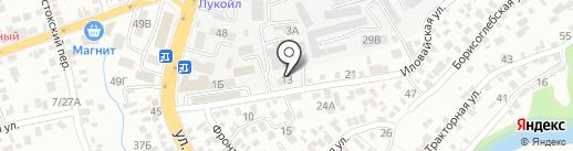 СтройСервисМонтаж на карте Ростова-на-Дону